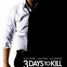 Three Days to Kill: la locandina del film