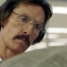 Dallas Buyers Club: Matthew McConaughey dimagrito e pallido nei panni Ron Woodroof, un malato di AIDS