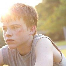 Hellion: un primo piano del giovane Josh Wiggins