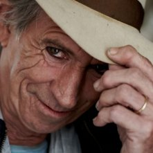 Un primo piano di Keith Richards