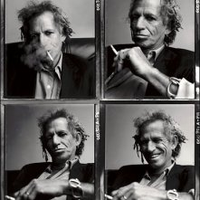 Un ritratto multiplo di Keith Richards