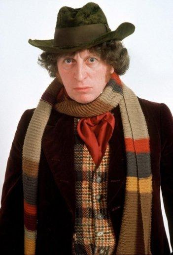 Doctor Who: il quarto Dottore Tom Baker