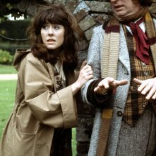 Doctor Who: Tom Baker ed Elisabeth Sladen in The Seeds of Doom