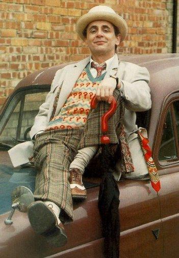 Doctor Who: una foto del settimo Dottore Sylvester McCoy