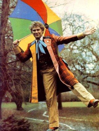 Doctor Who: una foto dl sesto Dottore Colin Baker