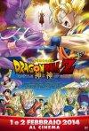 Dragon Ball Z: La Battaglia degli Dei, la locandina italiana