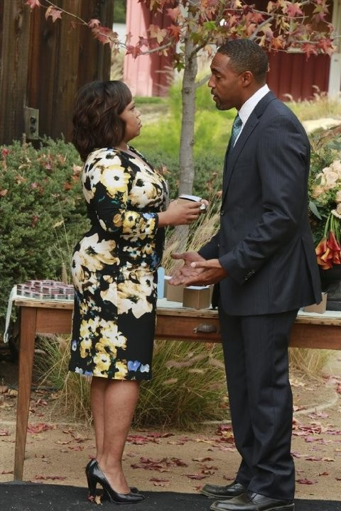 Grey S Anatomy Chandra Wilson E Jason George Nell Episodio Get Up Stand Up 295331