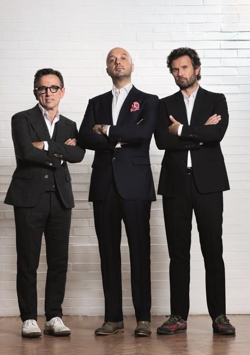 Masterchef 3 Bruno Barbieri Carlo Cracco E Joe Bastianich In Una Foto Promozionale 295313