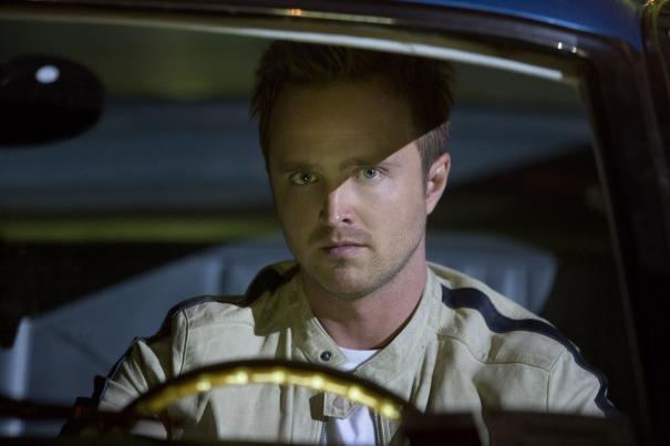 Need For Speed Un Intenso Primo Piano Di Aaron Paul Dietro Il Volante 295305