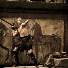 Hercules: La leggenda ha inizio, Kellan Lutz scaglia una lancia