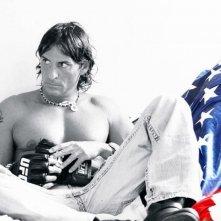 """Claudio Del Falco in una foto promozionale di """"M.M.A NUOVI GUERRIERI"""""""