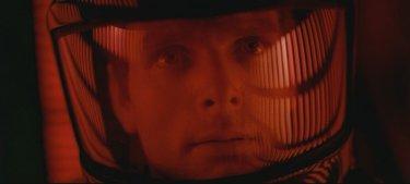 Keir Dullea in una scena di 2001: Odissea nello spazio (1968)