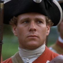 Ryan O'Neal in una sequenza di Barry Lyndon (1975)