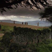 Una delle scene iniziali di Barry Lyndon di Stanley Kubrick