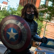Captain America: The Winter Soldier: un primo piano del Soldato d'Inverno, alias, Sebastian Stan