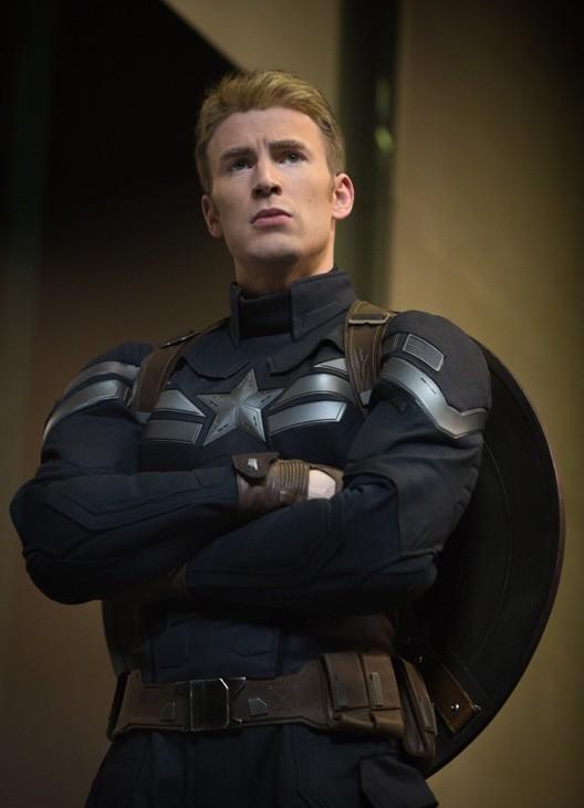 Captain America The Winter Soldier Un Primo Piano Di Chris Evans 295640