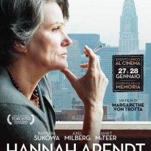 Hannah Arendt: la locandina italiana
