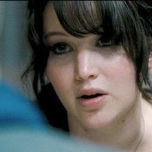 Jennifer Lawrence in una scena di The Silver Linings Playbook