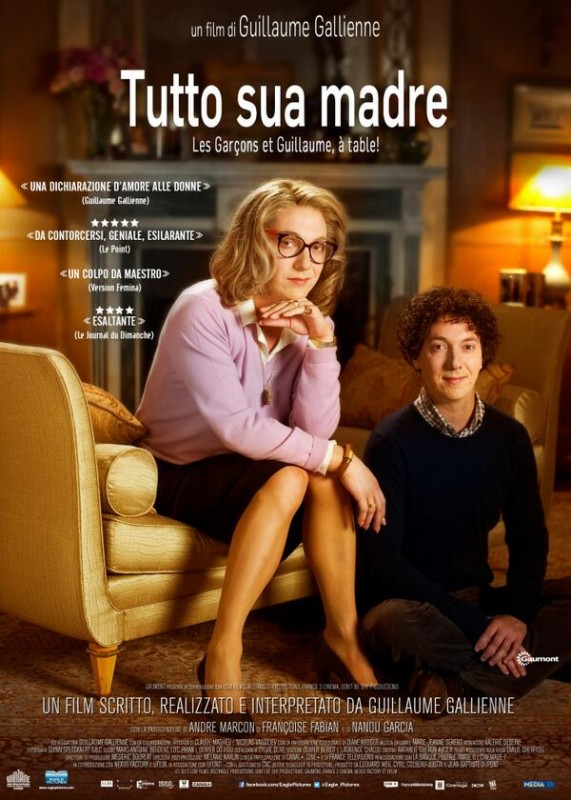 Tutto Sua Madre La Locandina Italiana Del Film 295725