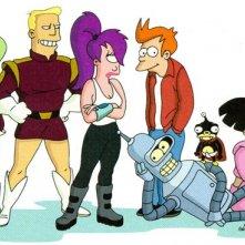 Futurama: un'immagine dei protagonisti