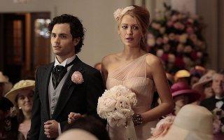 Gossip Girl: enn Badgley e Blake Lively in una scena dell'episodio ew York, I Love You XOXO!