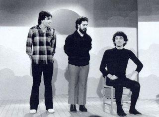 Massimo Troisi, Lello Arena ed Enzo De Caro ai tempi de 'La Smorfia'