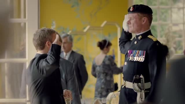 Sherlock Martin Freeman In Un Immagine Dell Episodio The Sign Of Three 295857