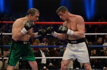 Il Grande Match: Robert De Niro e Sylvester Stallone si affrontano sul ring in una scena