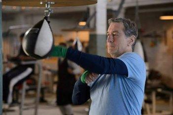 Il Grande Match: Robert De Niro si allena per l'incontro in una scena del film