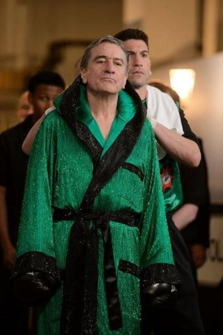 Il Grande Match: Robert De Niro si prepara per l'incontro in una scena del film
