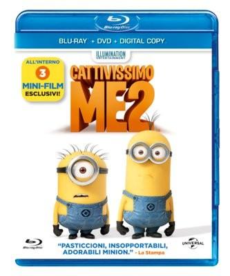 La Copertina Di Cattivissimo Me 2 Blu Ray 295923