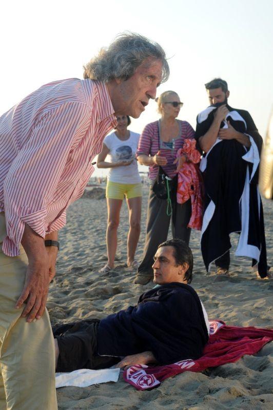 Sapore Di Te Il Regista Carlo Vanzina Sul Set Con Vincenzo Salemme 296001