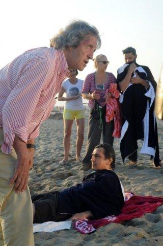 Sapore di te: il regista Carlo Vanzina sul set con Vincenzo Salemme