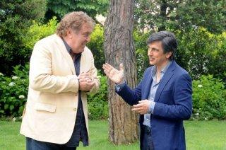 Sapore di te: Maurizio Mattioli con Vincenzo Salemme in un momento del film