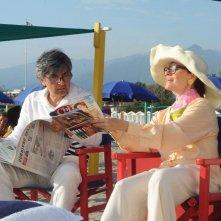 Sapore di te: Vincenzo Salemme con Valentina Sperlì nei panni dell'onorevole De Marco e signora