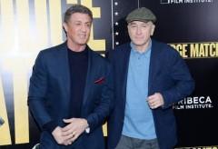 Stallone e De Niro presentano a Roma Il grande match