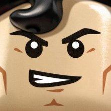 The Lego Movie: aggressivo character poster di Superman