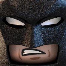 The Lego Movie: aggressivo character poster di Batman