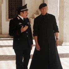 Don Matteo 9: Terence Hill e Nino Frassica nella fiction
