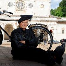 Don Matteo 9: Terence Hill in una foto promozionale della fiction