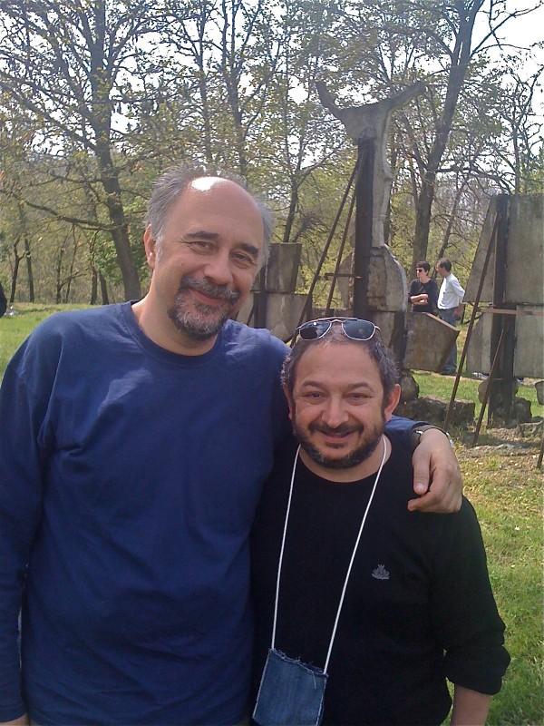 Giorgio Diritti E Orfeo Orlando Sul Set De L Uomo Che Verra 296063