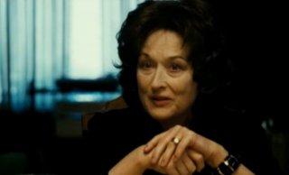 Meryl Streep in una scena de I segreti di Osage County