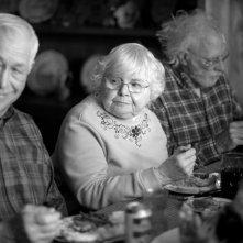 Nebraska: Bruce Dern insieme a June Squibb in una scena del film