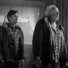 Nebraska: Will Forte e Bruce Dern in una scena