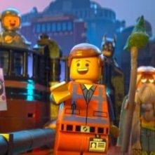 The Lego Movie: Emmett, Vitruvius e Uni-Kitty alle prese con un gatto Lego