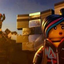 The Lego Movie: Uni-Kitty in una scena del film