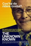 The Unknown Known: la locandina italiana