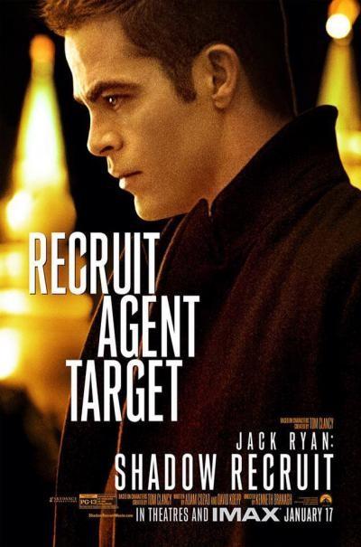 Jack Ryan L Iniziazione Il Character Poster Di Chris Pine 296288