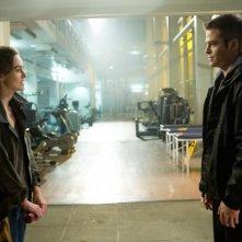 Jack Ryan - L'iniziazione: Keira Knightley e Chris Pine in una scena del film