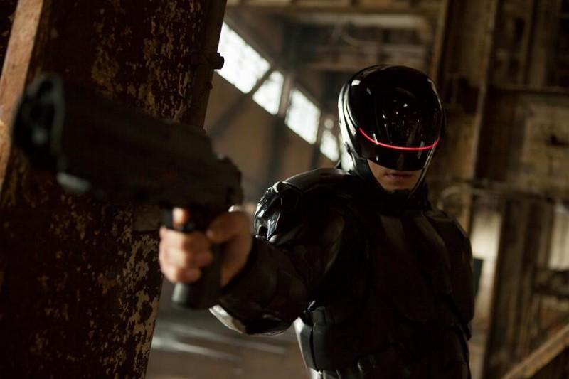 Robocop Joel Kinnaman Nei Panni Di Robocop In Una Scena Del Film 296308